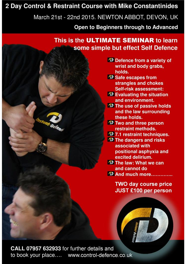INSTANT DEFENSE POSTER   hand grab page