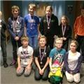 Big medal haul for Dawlish octopush juniors