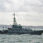Border Force Ship
