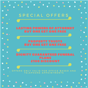 UNBEATABLE SPECIAL OFFERS