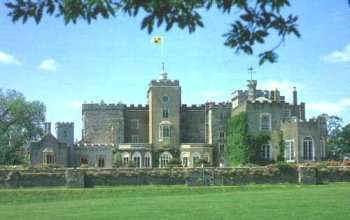 Powderham Castle Flying Flag
