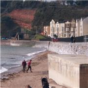 Will the sea wall towards Boatcove be reopened by this Easter Bank holiday?