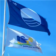 Dawlish Warren Beach Flag