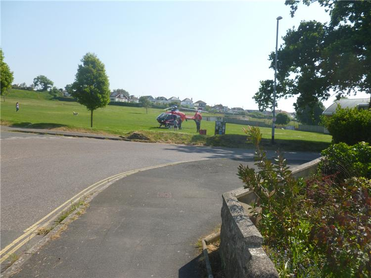 A lot of activity at Sandy Lane park 002