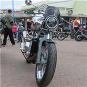 New Brough Superior's at Dawlish Warren 30 09 2018