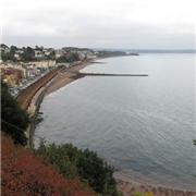 Flying Scotsman pics through Dawlish 04 10 2018