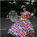 Union Flag Lady