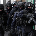 Armed police in drugs swoops